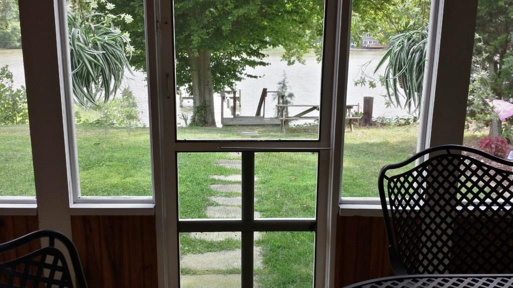 121 Knolwood Rd Elkton MD Waterfront Home for Sale - Screened Porch to Water