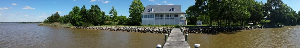 151 2nd St Chesapeake City MD Waterfront Home for Sale - Home from Pier