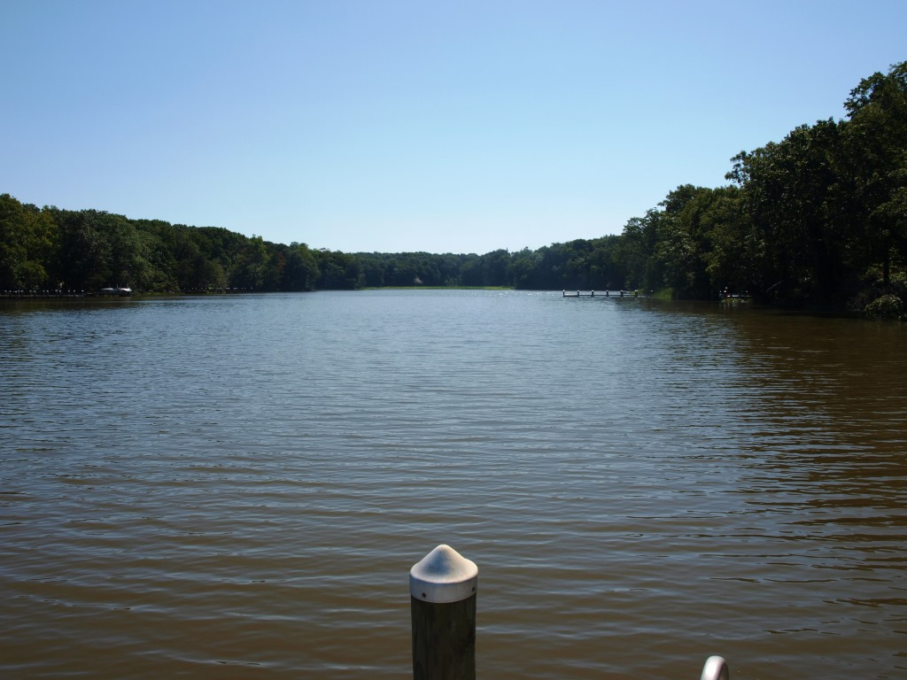 121 Knolwood Rd Elkton MD Waterfront Home for Sale - View from Pier up Perch Creek