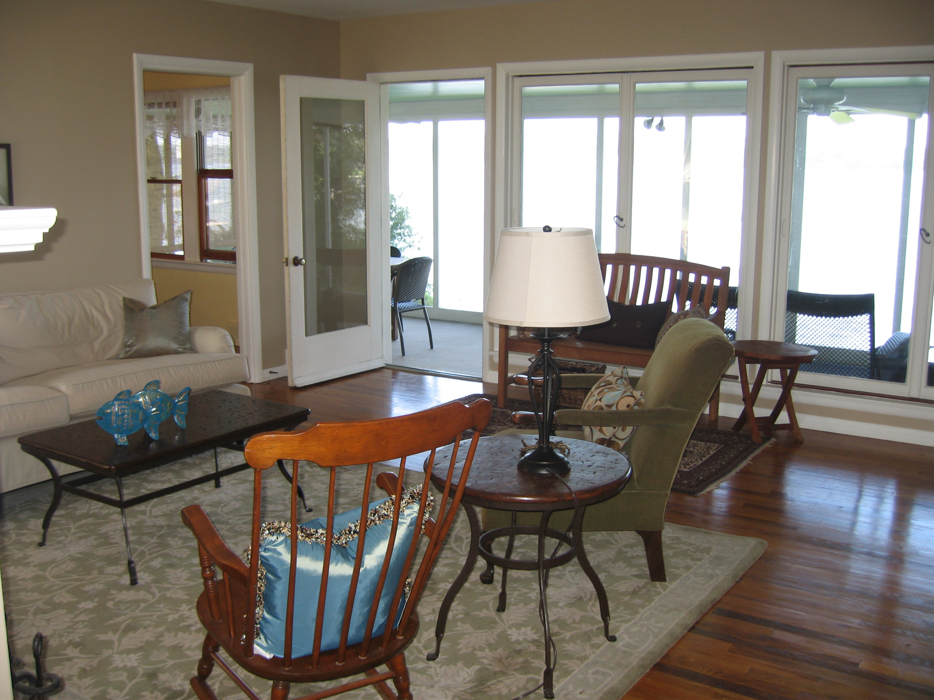 1659 Town Point Rd Chesapeake City MD Waterfront Home  - Living Room