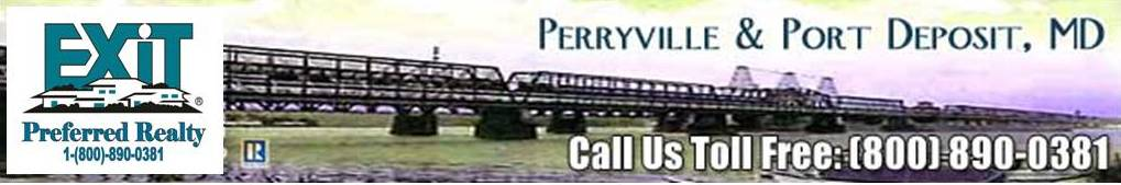 Perryville and Port Deposit MD Homes for Sale