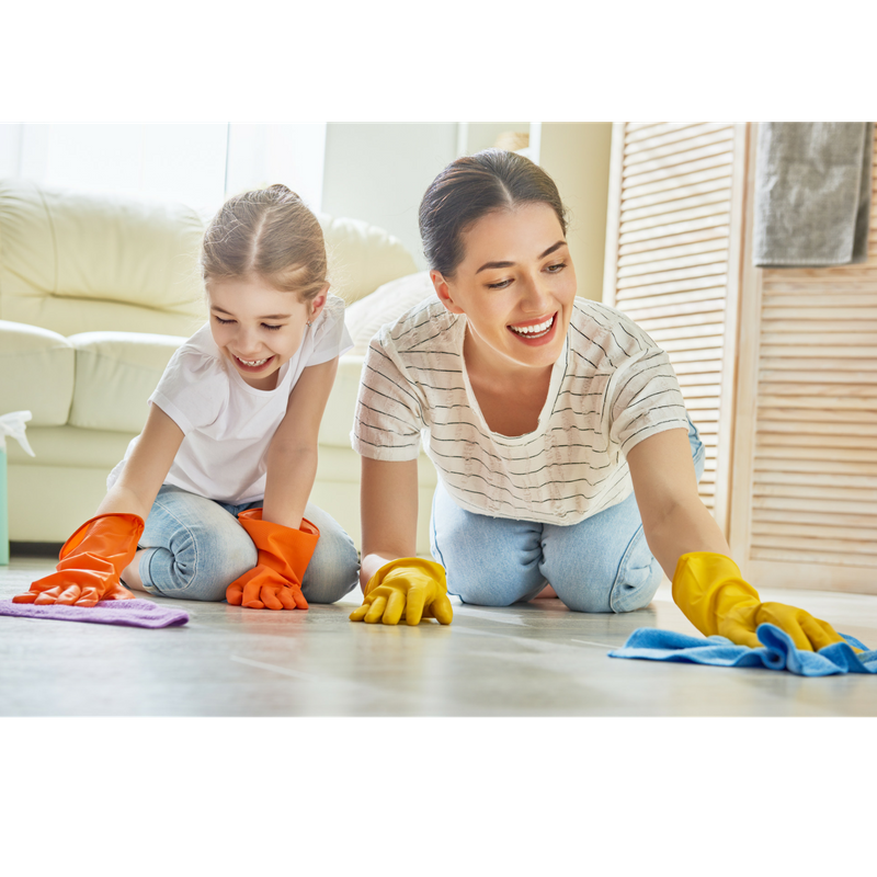 Spring Cleaning to prepare for selling a house