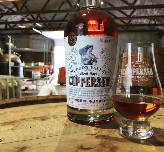 Coppersea Distillery, New Paltz