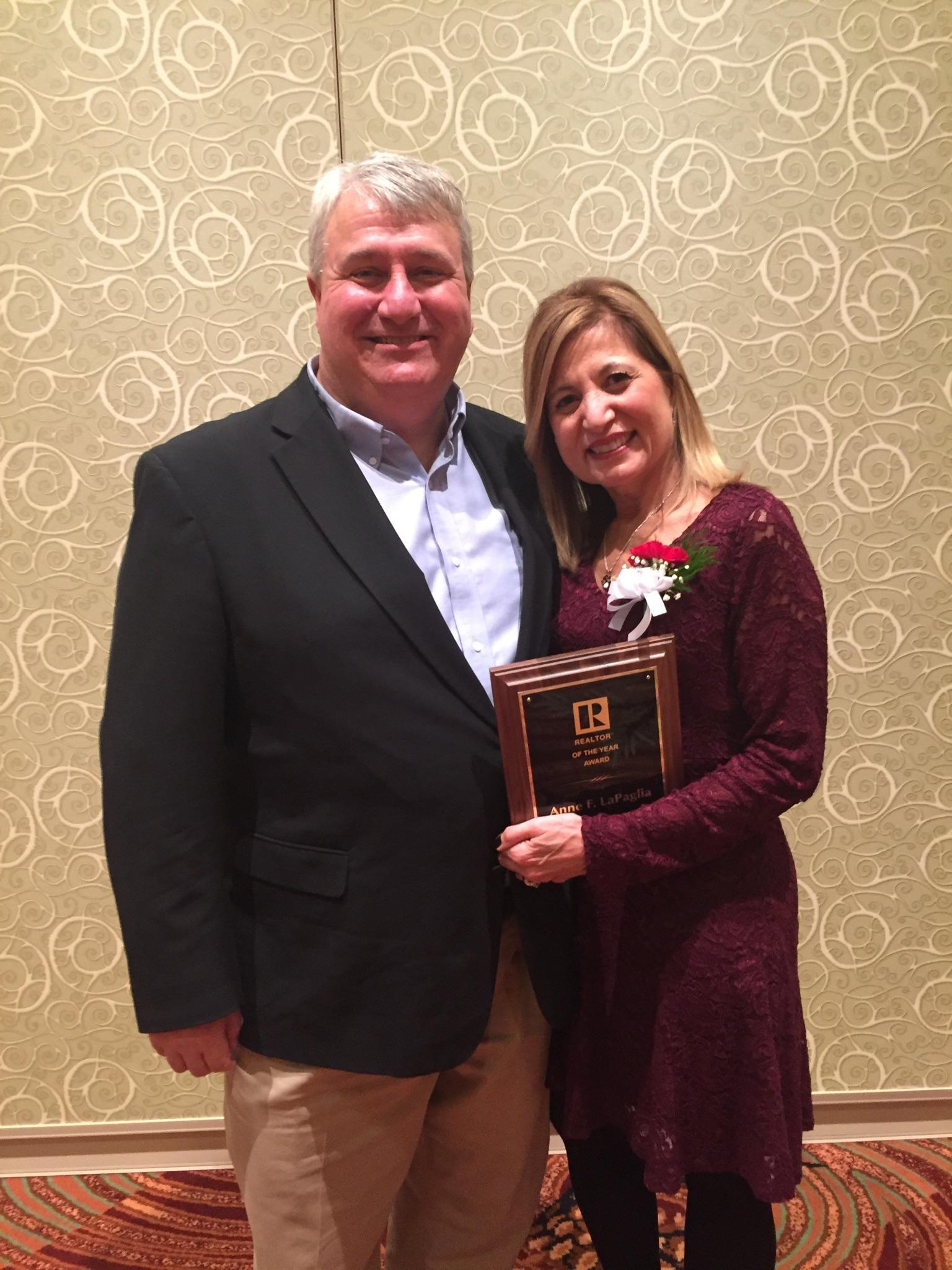 Anne LaPaglia CCBR 2016 Realtor of the Year