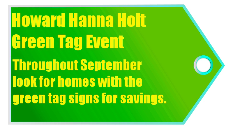 Howard Hanna Holt Green Tag Event