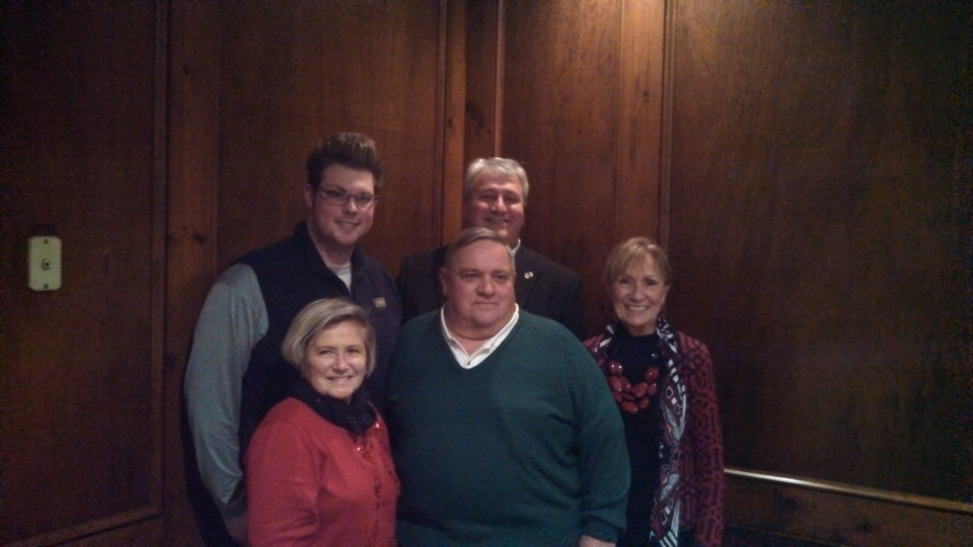 Howard Hanna Holt Real Estate REALTORS of the Year Sandy Haines, Doug Hooper, Matthew Wroda, Steve Holt, Diana Holt