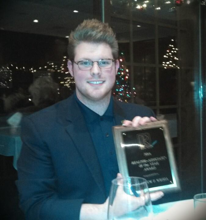 Matthew Wroda 2014 Chautauqua County REALTOR of the Year