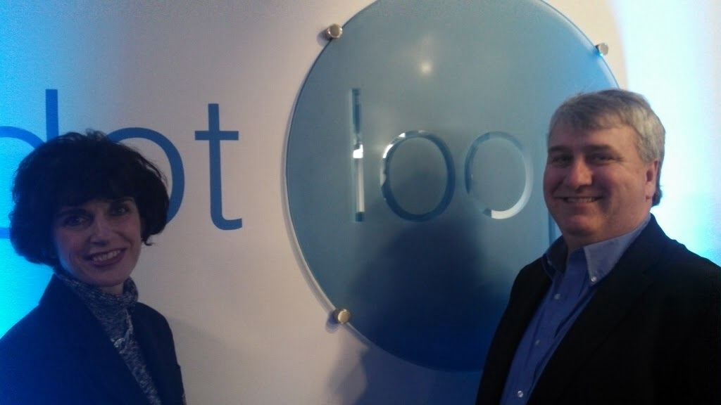 Judy Porpiglia and Steve Holt at Dotloop Headquarters