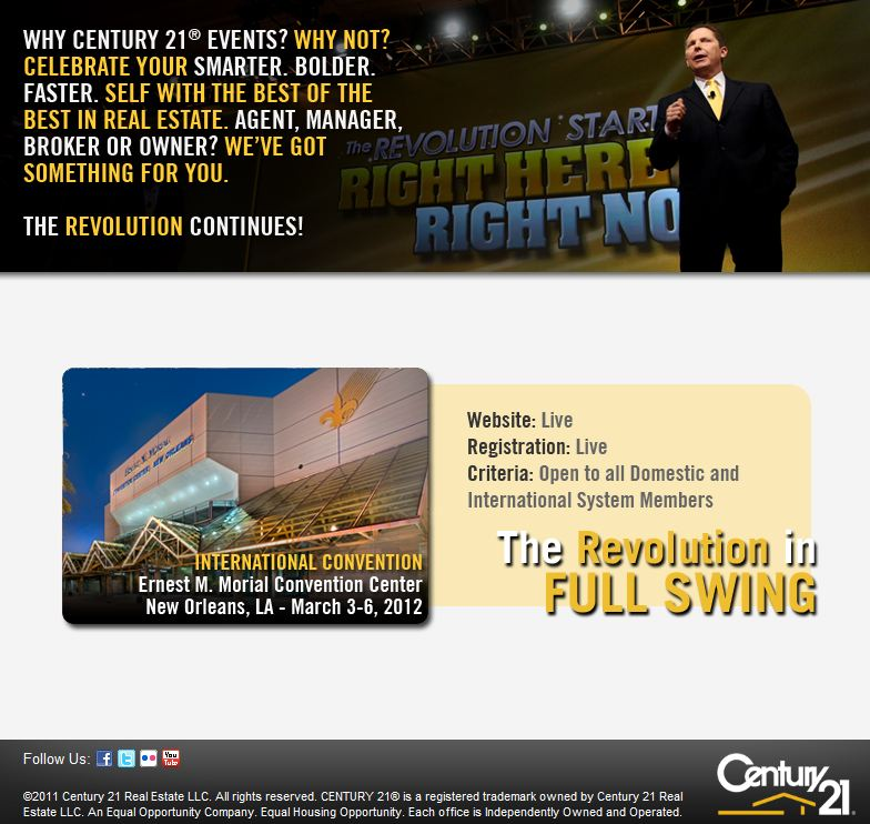 Century 21 2012 Real Estate Convention