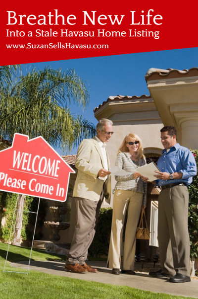 Has your home languished on the market for a while? Breathe new life into a stale Havasu home listing with these simple tips.