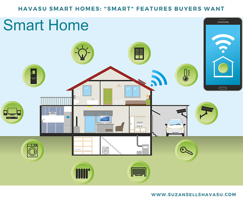 Whether first-time home buyers or retirees, young or old, today's buyers say they want Havasu smart homes. Investing in smart technology increases your appeal and value when you want to sell your home.