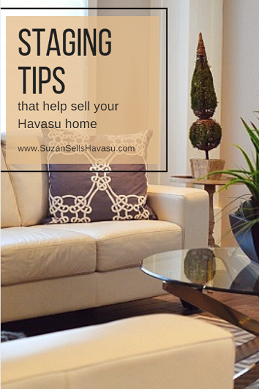 These staging tips help you sell your Havasu home quickly and for more money than not staging your home.