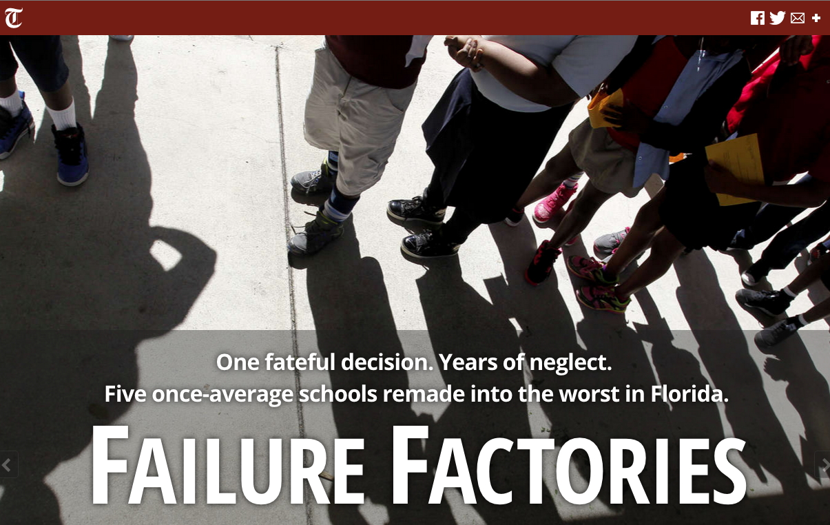Tampa Bay Times Failure Factories