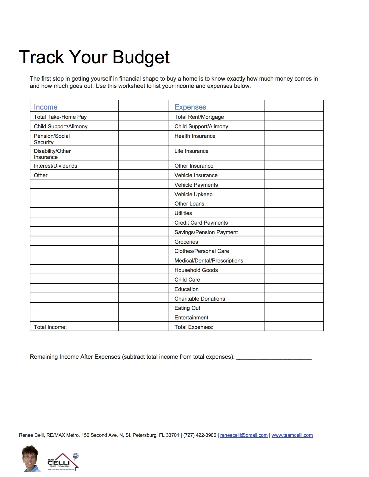 Worksheets Budget For Dummies Worksheet use a budget worksheet to prepare for buying home when it comes using those mortgage calculators see how much house you can afford feel free print out this help keep