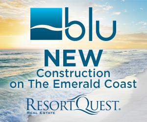 blu New Beach Construction Gulf Coast of Florida