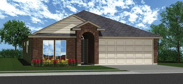 Killeen TX Homes DR Horton Roosevelt Floor Plan L
