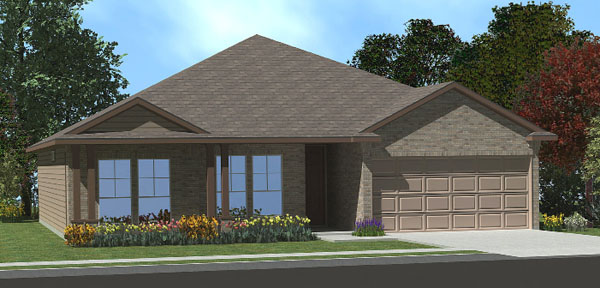 The willow floor plan killeen tx new homes for sale for The willow house plan