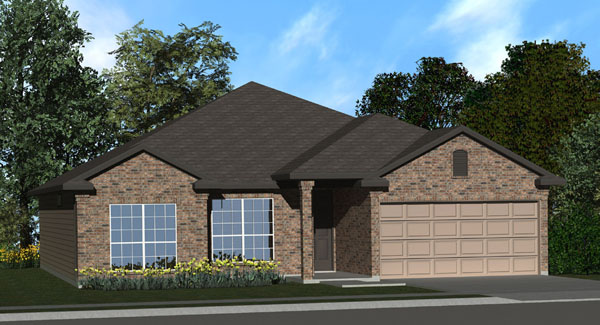 The willow ii floor plan killeen tx new homes for sale for Home builders killeen tx