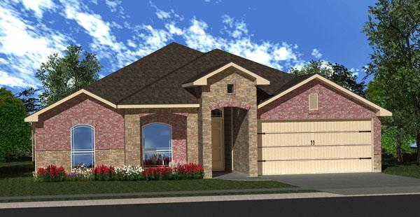 Killeen TX Homes DR Horton Willow II V