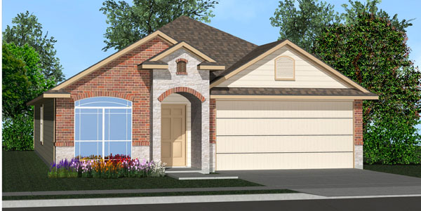 The Columbus Floor Plan Killeen Tx New Homes For Sale