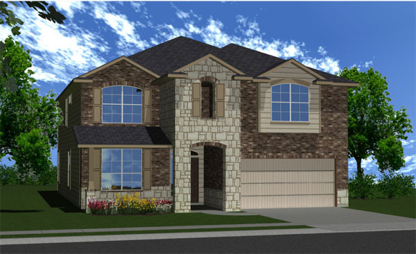 Killeen TX Homes Valencia W