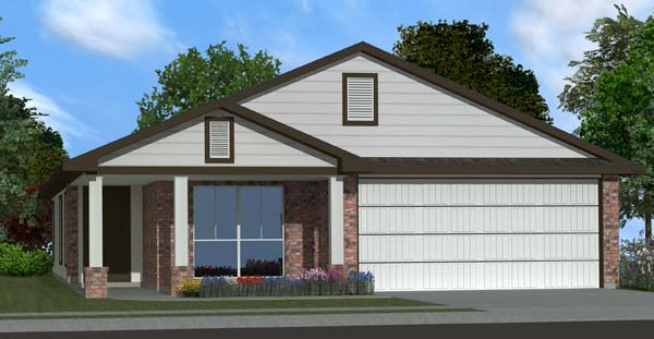 Killeen TX Homes DR Horton Rosewood Plan Elevation O
