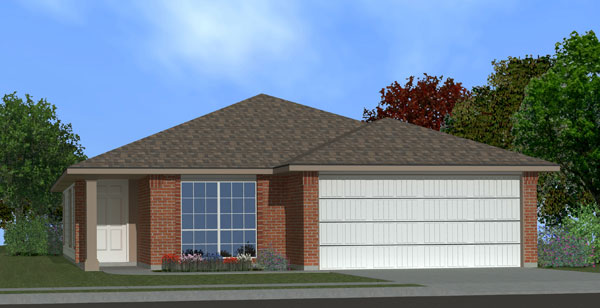 Killeen TX Homes Adra Plan Elevation K