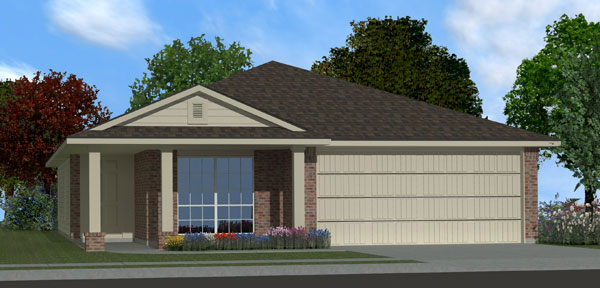 Killeen TX Homes Adra Plan Elevation M