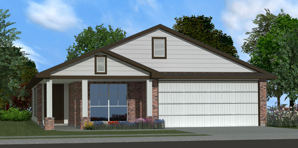 Killeen TX Homes Adra Plan Elevation O