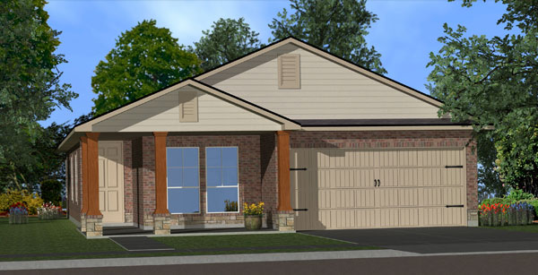 Killeen TX Homes Adra Plan Elevation W5