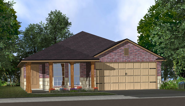 Killeen TX Homes Adra Plan Elevation X5