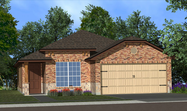 Killeen TX Homes Adra Plan Elevation Y5