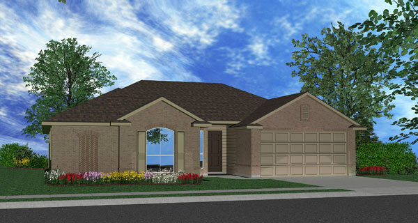Killeen TX Homes The Ceville Plan Elevation M