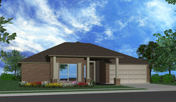 Killeen TX Homes The Ceville Plan Elevation O