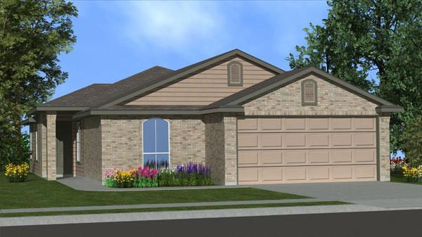 Killeen TX Homes Trueman Plan Elevation B