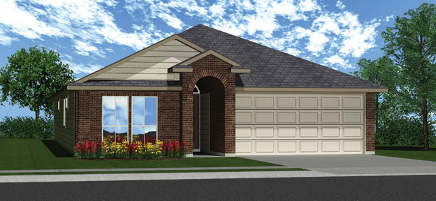 Killeen TX Homes The Roosevelt Plan Elevation K
