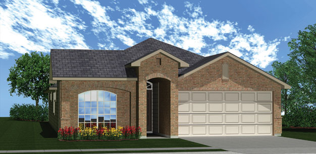 Killeen TX Homes The Roosevelt Plan Elevation L