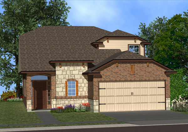 The Madrid Floor Plan Killeen Tx New Homes For Sale