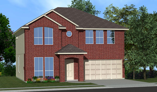 Killeen TX Homes The Washington Plan Elevation D