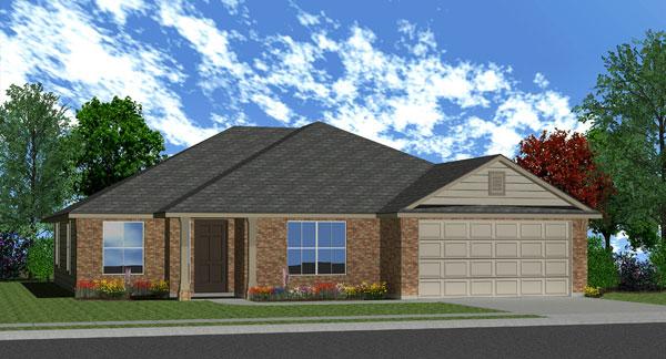 Killeen TX Homes Avalon Plan Elevation K