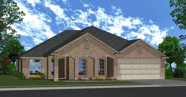 Killeen TX Homes Avalon Plan Elevation M