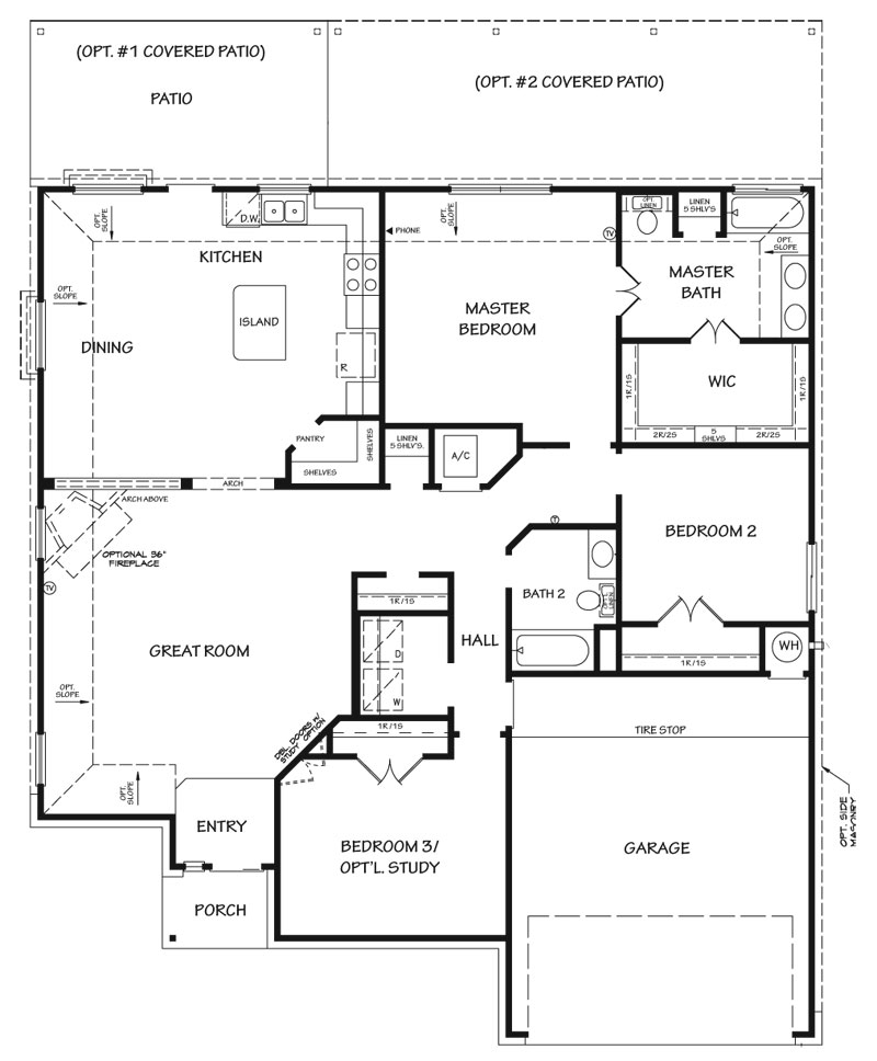 The Avalon Floor Plan Killeen Tx New Homes For Sale