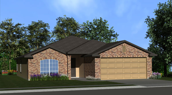 Killeen TX Homes LincoIn Plan Elevation C