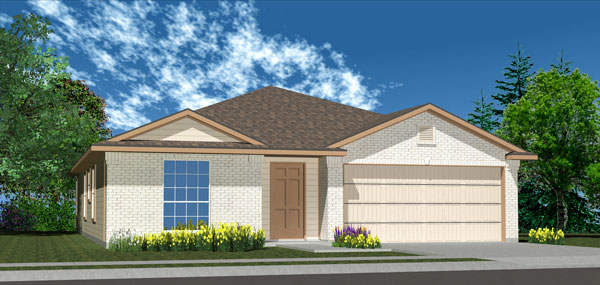 Killeen TX Homes Denali Plan Elevation B