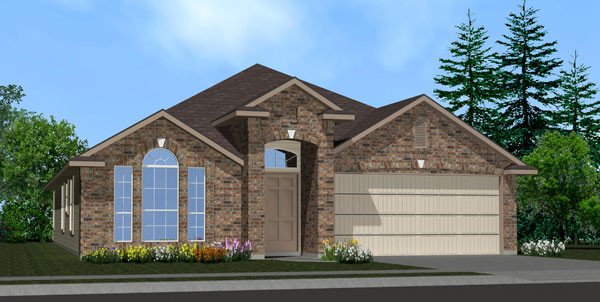 Killeen TX Homes Denali Plan Elevation D