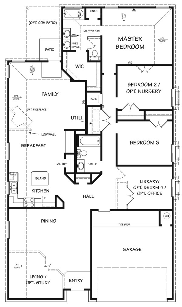 Killeen TX Homes Denali Floor Plan