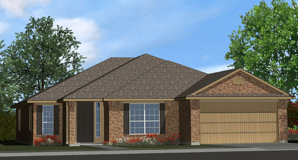 Killeen TX Homes The Davenport Plan Elevation L