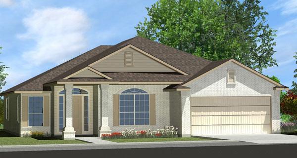 Killeen TX Homes Davenport Plan Elevation O
