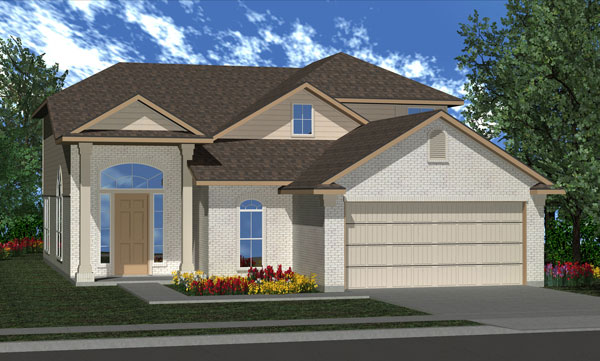 Killeen TX Homes Alcott Plan Elevation M