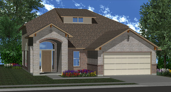 Killeen TX Homes Alcott Plan Elevation N